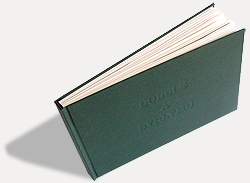 Bubble a Byrlymu - handmade book
