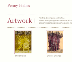 Penny Hallas' Website