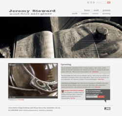 Jeremy Steward's website home page