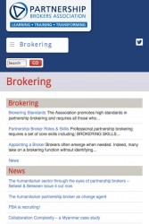 Partnership Brokers Association - Brokering Section