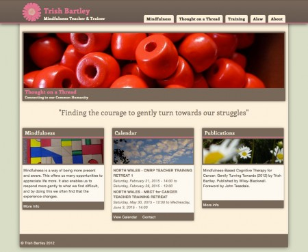 Trish Bartley's website -before